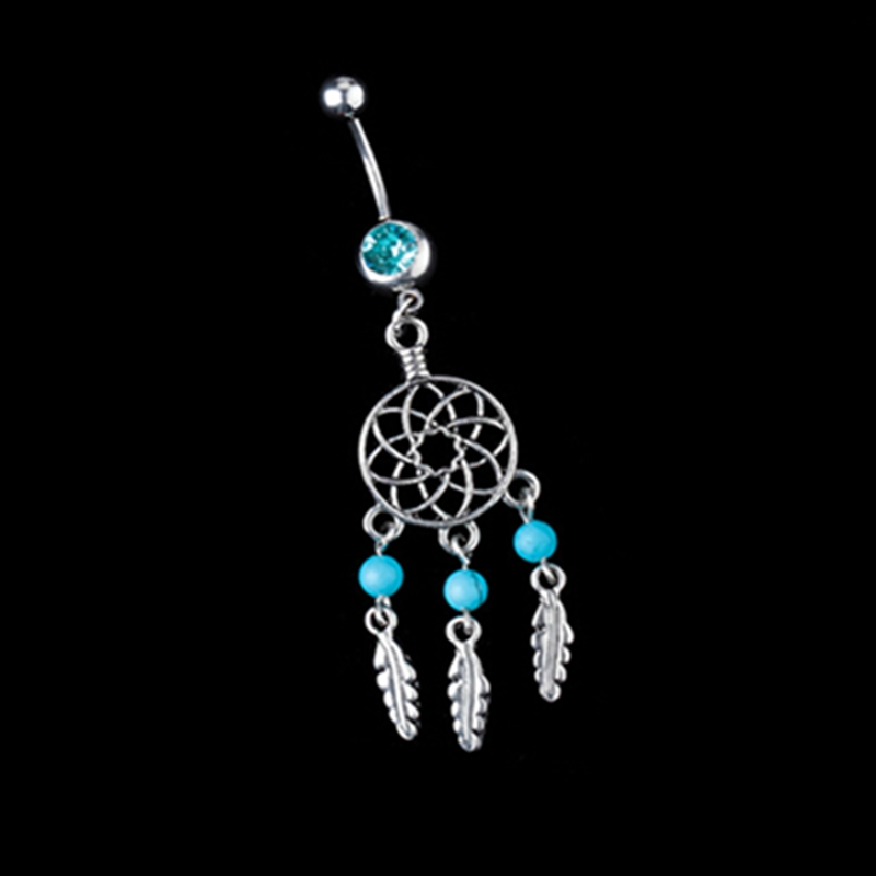 2016 New Belly Button Rings Piercing Ball Body Jewelry -3608