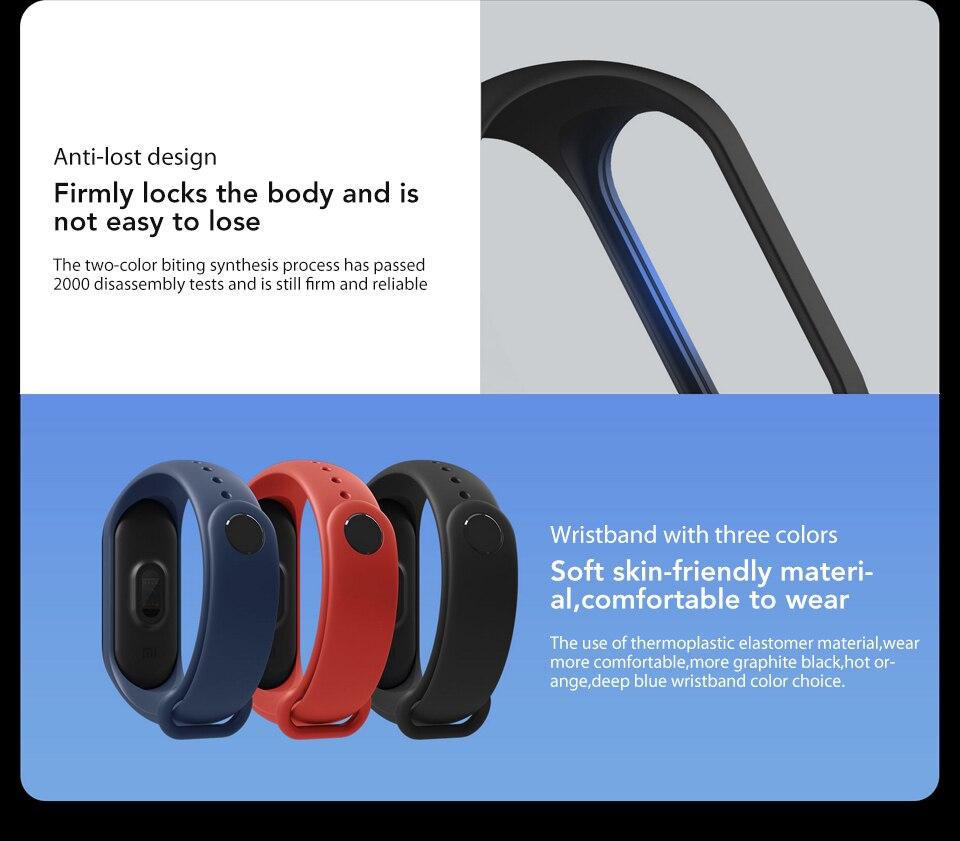 In Stock! Original Xiaomi Mi band 3 Xiomi Heart Rate Monitor Bluetooth 4.2 Xaomi Smart Sport Bracelet OLED Miband 3 Smartband  (13)