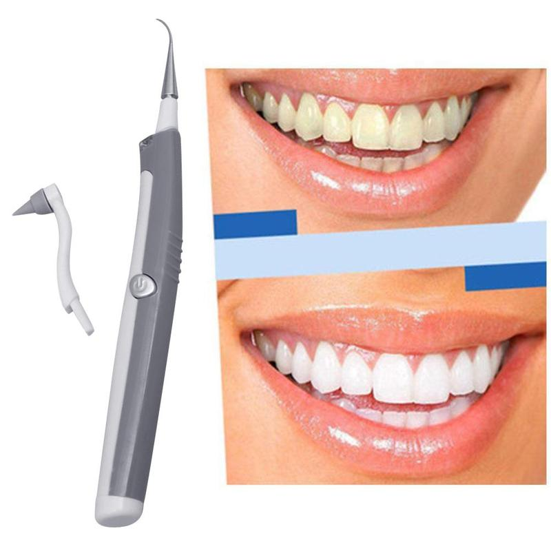 Electric Ultrasonic Tooth Stain Eraser Plaque Remover Dental Tool Teeth Whitening Dental Cleaning Scaler Tooth Odontologia Tools