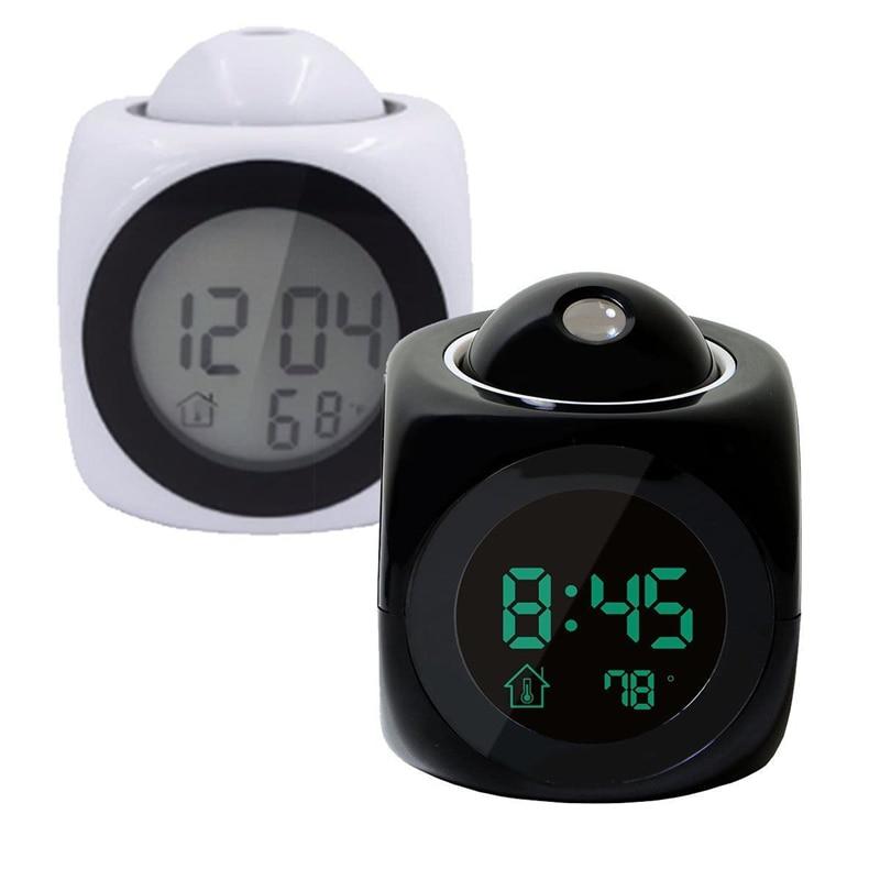 Home & Garden Just Led Display Modern Projection Led Clock Electronic Desktop Alarm Clock Digital Table Clocks Snooze Function