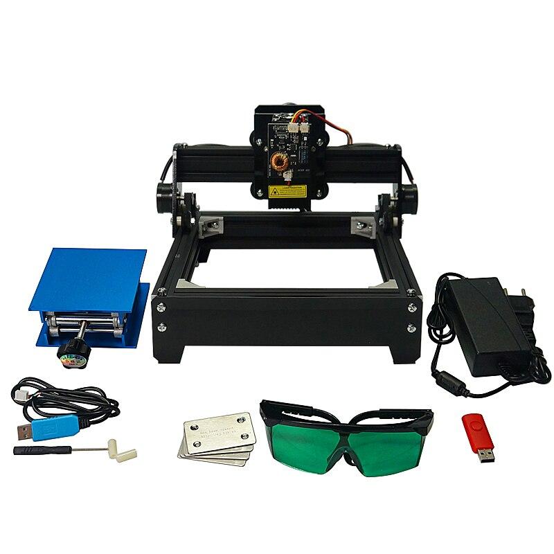 Machine de gravure laser en métal de marquage Laser 15 W de 15000 MW pour l'aluminium de céramique d'acier inoxydable, taxe libre de russie