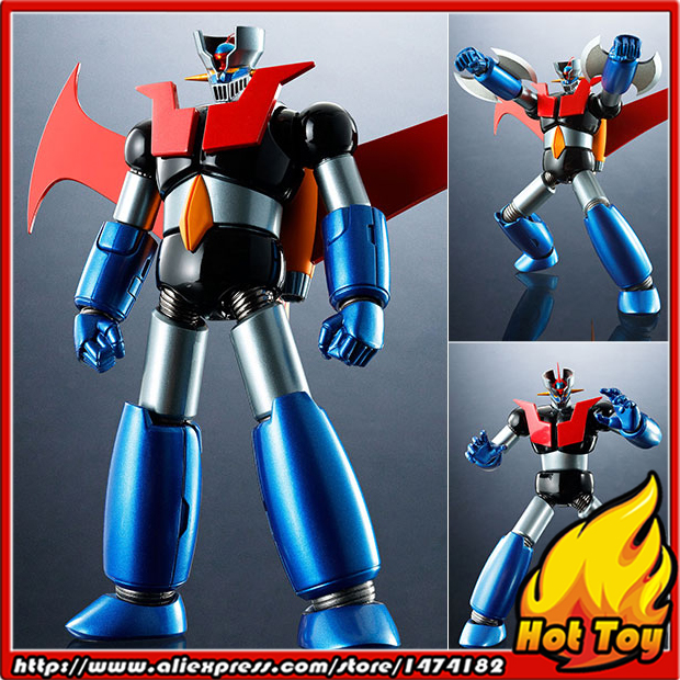 100% Original BANDAI Tamashii Nations Super Robot Chogokin Action Figure - Mazinger Z: Iron Cutter EDITION from Mazinger Z мицелий грибов вешенка золотая 16 древесных палочек