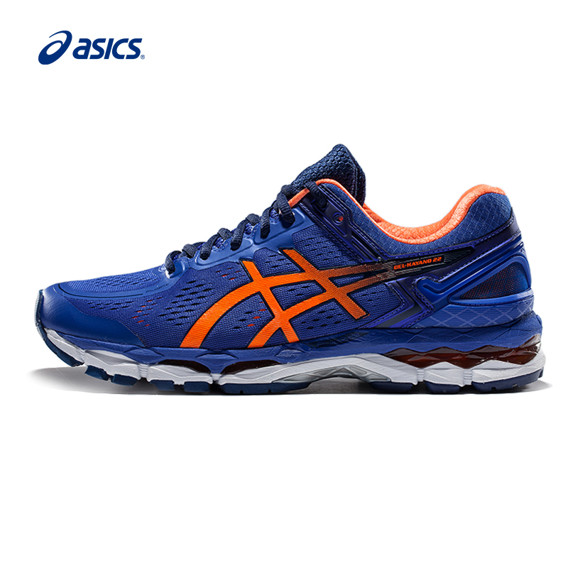 Original ASICS GEL-KAYANO 22 Men's Stability Running Shoes Sports Shoes Sneakers Breathable outdoor athletic shoes Tennis shoes peak sport men outdoor bas basketball shoes medium cut breathable comfortable revolve tech sneakers athletic training boots