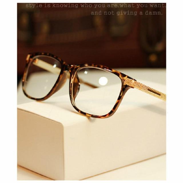 Eyeglass Frames Retro Men Women clear Designer Eyewear Frame Optical Eye Glasses Frame armacao para Oculos De Grau