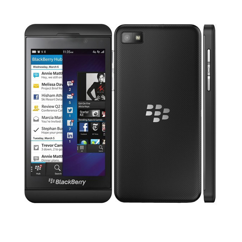 Original Refurbished Blackberry Z10 Dual core GPS WiFi 8MP 4 2 2GB RAM 16GB ROM Unlocked