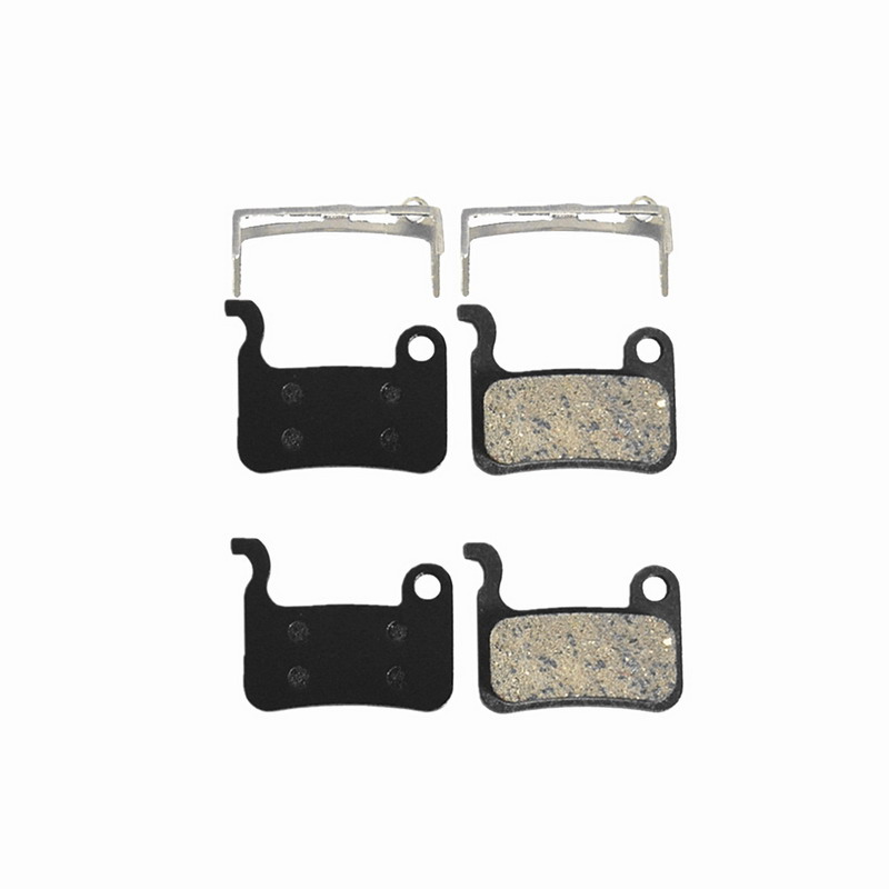 2 Pairs Universal Mountain Bicycle Cycling Disc Brake Pads For Shimano XTR M445