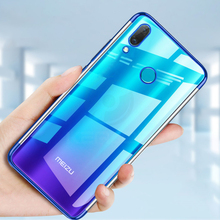 Keajor case For Meizu Note 9 Case Soft Plating TPU Silicon Luxury Transparent Bumper Cover phone cover