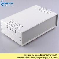 DIY junction box schalter verteilung fall Kunden diy Eisen projekt box für elektronische gehäuse instrument box 280*170 * 80mm