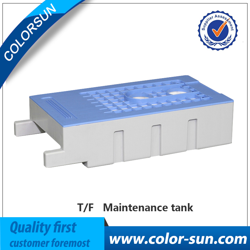 ФОТО NEW T6193 Maintenance Tanks with Chip For Epson Surecolor T3000 T5000 T7000 T3200 T5200 T7200 T3080 5080 7080 F6070 Printer
