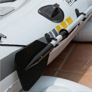 Image 3 - AQUA MARINA CHUYỂN ĐỘNG Thể Thao Mới Chèo Thuyền Kayak Bơm Hơi Trên Tàu Thuyền Bơm Hơi 2 Người Với Mái Chèo PVC Dày Thuyền Với Mái Chèo