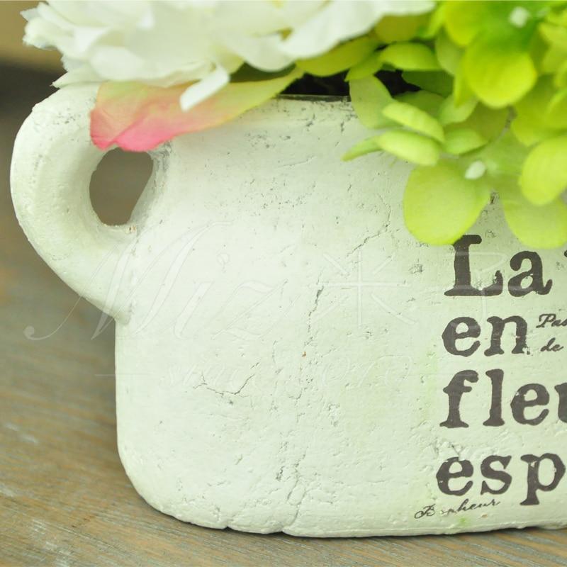 Freshing Green Artificial Hydrangea Berries Vase 3