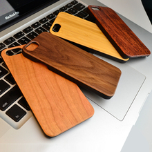 New Brand Thin Luxury Bamboo Wood Phone Case For Iphone6 6S 6Plus 6S Plus 7 7Plus Samsung Galaxy S5 S6 S7 Edge Cover Wooden High