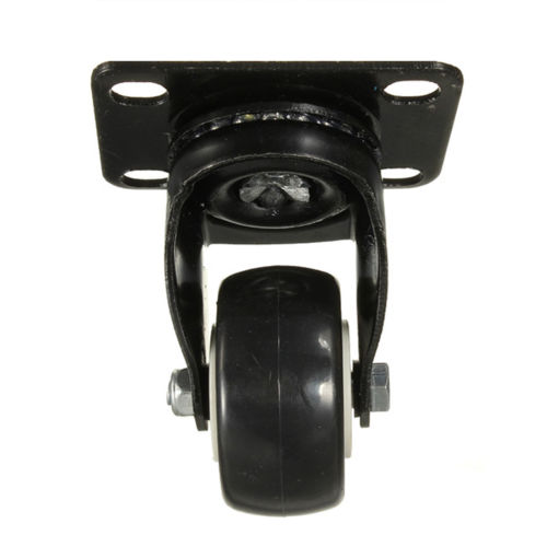 CNIM Hot 4 Pcs Heavy Duty 200kg 50mm Swivel Castor Wheels Trolley Furniture Caster Rubber