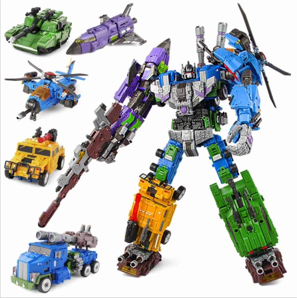 Transformacja mengbadi mechine boy ko onslaght Brawl Blast Off Swindle Vortex bruticus rysunek zabawki