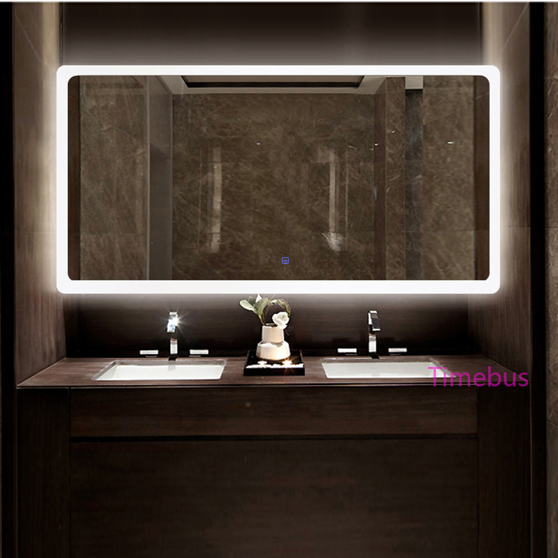 Bathroom Intelligent led Mirror Wall Lamp Fog-proof Toilet Bathroom led Mirror Beauty Cosmetology Salon Wall Mirror With Lights 2