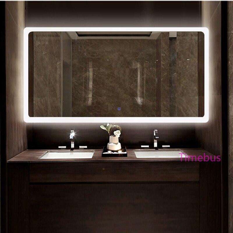 Bathroom Intelligent led Mirror Wall Lamp Fog-proof Toilet ...