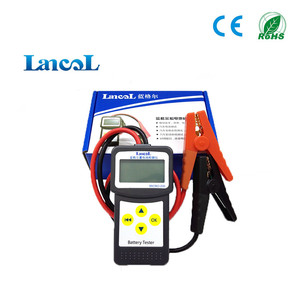 Image 2 - Lancol מקצועי מיקרו 200 אבחון כלי רכב בודק סוללה רכב Analyzer 12v cca סוללה מערכת Tester USB להדפסה