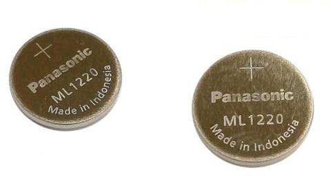 Bateria para Panasonic Pilhas de Moedas Lote Nova Ml1220 3 v 1220 ml Recarregável Cmos Rtc Bios Back up Bateria Botão Celular 30 Pçs –