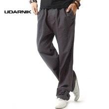 Men Drawstring Linen Trousers Summer Pants Jogging Straight Leg Loose Sweatpants Casual Bottoms Wear Size M-3XL 045-971