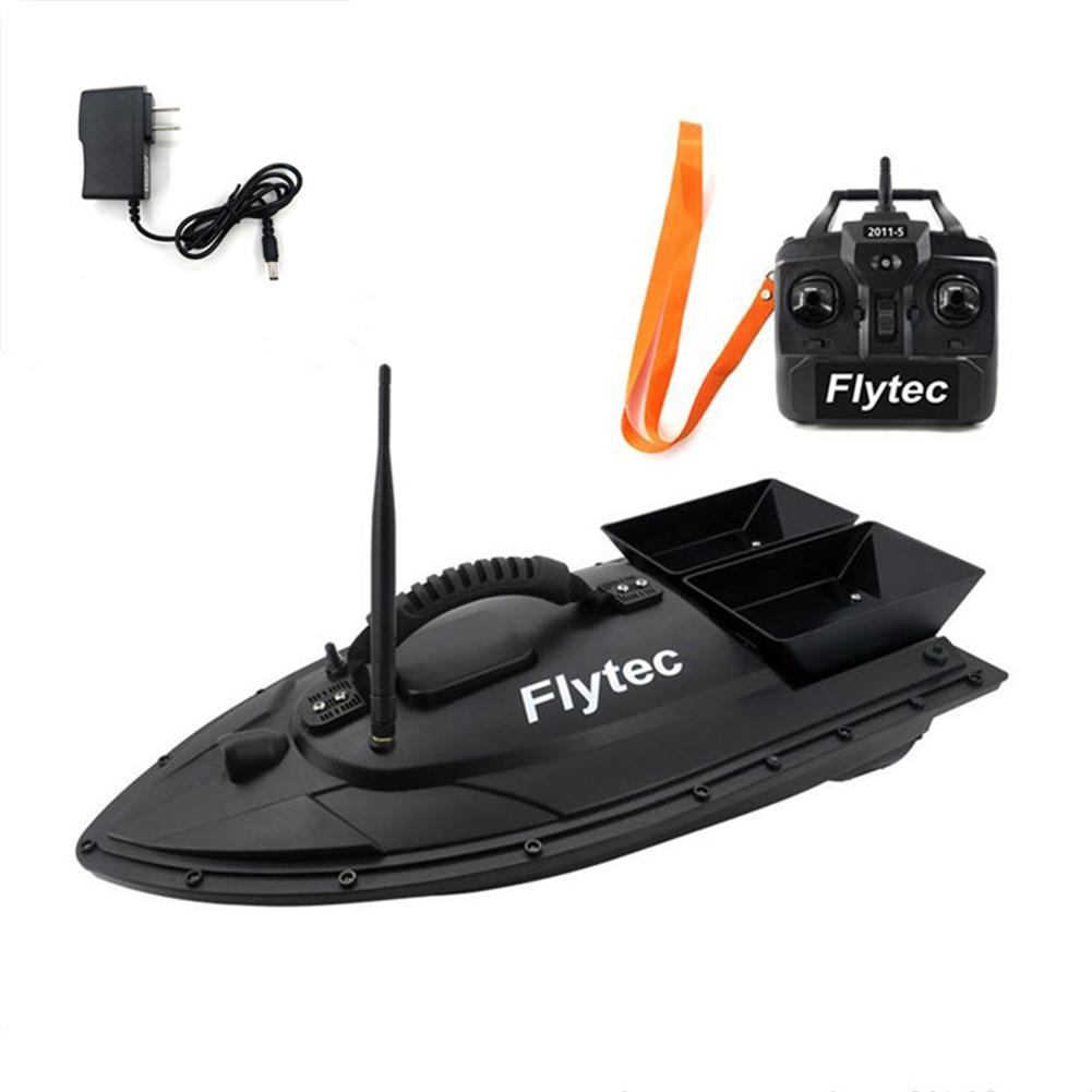 New Flytec 2011-5 Bait Boat Fishing Equipment Tool 500 Meters Smart RC Bait Boat Toy Bait Fishing Package Repair Upgrade Kits