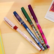 1pcs/lot Kawaii Sweater series needle style gel pen 0.35mm Black funny students' prize gift office school supplies Wholesale(China)