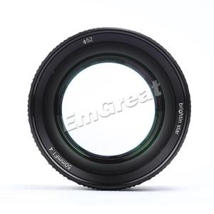 Image 3 - Brightin כוכב 50mm F1.4 ראש עדשת גדול צמצם ידני עדשה עבור Sony e mount עבור Fuji X  הר M4/3 הר ראי מצלמות