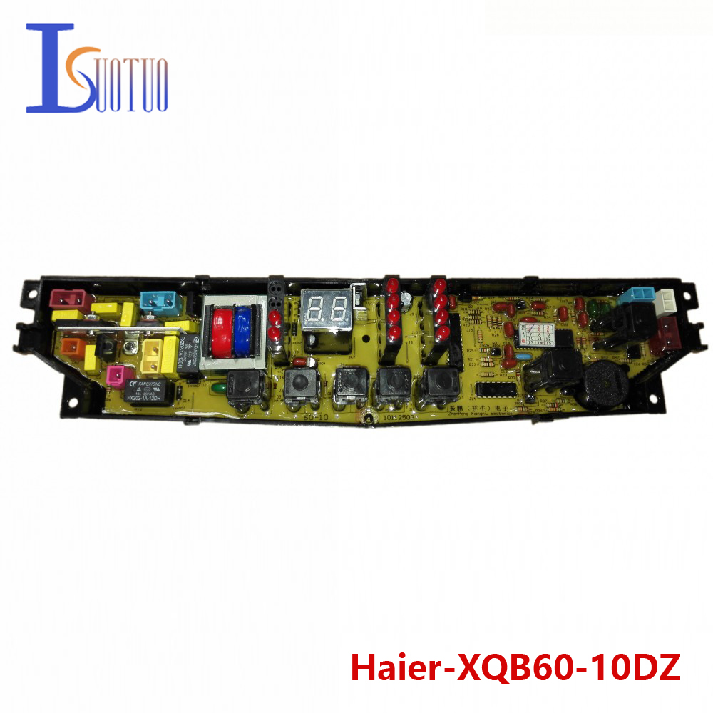 Haier washing machine brand new computer board XQB60-10DZ XQB56-10 free shipping 100% tested washing machine board for haier xqb50 0528 xqb60 0528a on sale