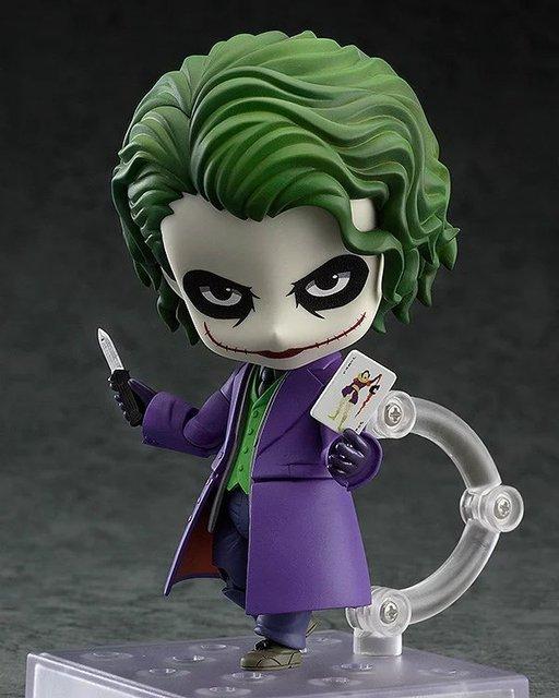 Batman Action Figure Joker Nendoroid Toys Bat Man Japanese Anime Figures Collectible Model Toy 100MM Joker Nendoroid