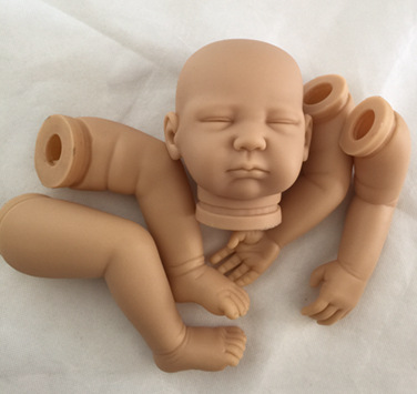 Reborn Doll Kits for 20 Inches Soft Vinyl Reborn Baby Dolls Accessories for DIY Realistic Toys for DIY Doll Body Parts doll kits for 65cm lifelike soft vinyl reborn dolls parts baby alive accessories for diy realist reborn toddler doll kit