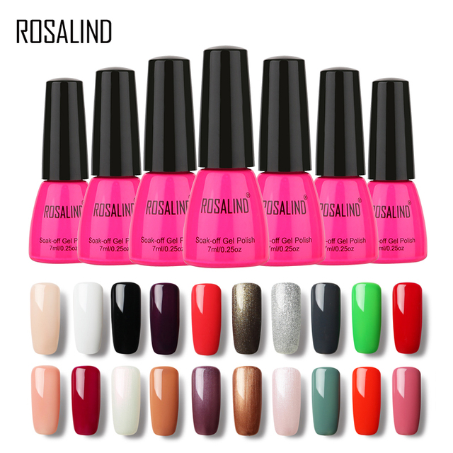 ROSALIND Gel 1 7ML Color Code 58 Colors 01 30 Painting Art UV LED ...