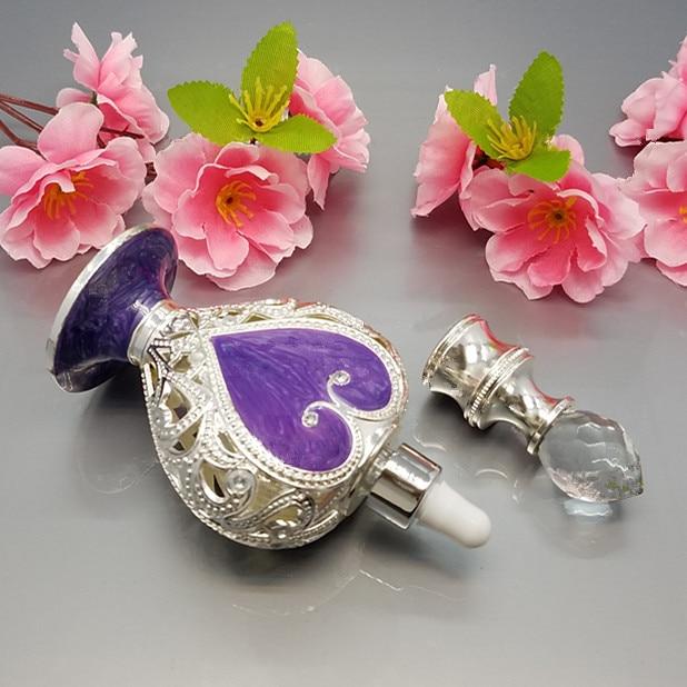 10 ml Musilm Islamitische goud / zilver Drop essentiële fles oogglas - Huidverzorgingstools - Foto 6