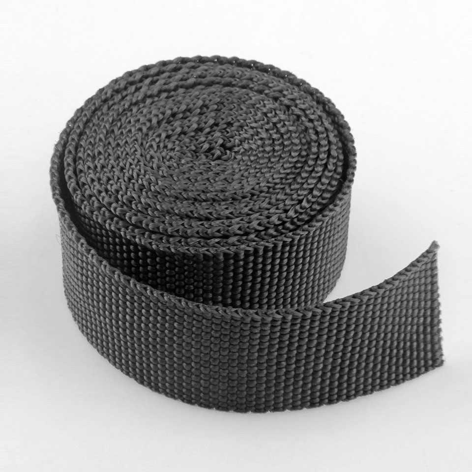 100 ярдов/партия 23 мм ширина ленточный ремешок для шитья тесьма PP украшения для рюкзака лента черный синий желтый фиолетовый красный белый зеленый серый