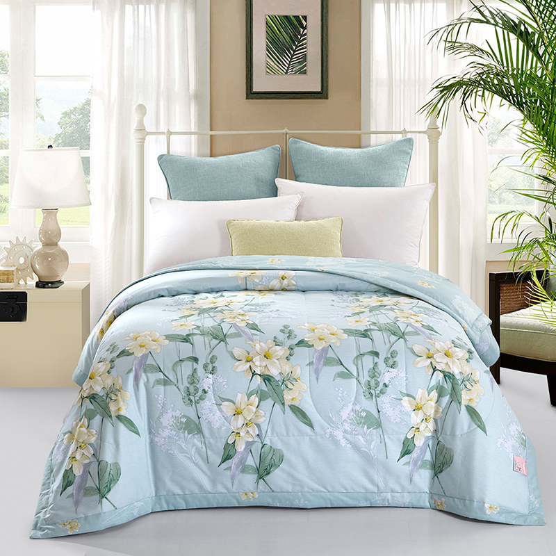 classical summer quilted Quilt 150*200cm 200*230cm size thin bedding Throws Blanket Plaids