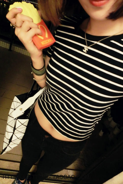 HTB1wzvALXXXXXX7XpXXq6xXFXXXi - New Women T shirt Sexy Crop Tops Striped Short Sleeved