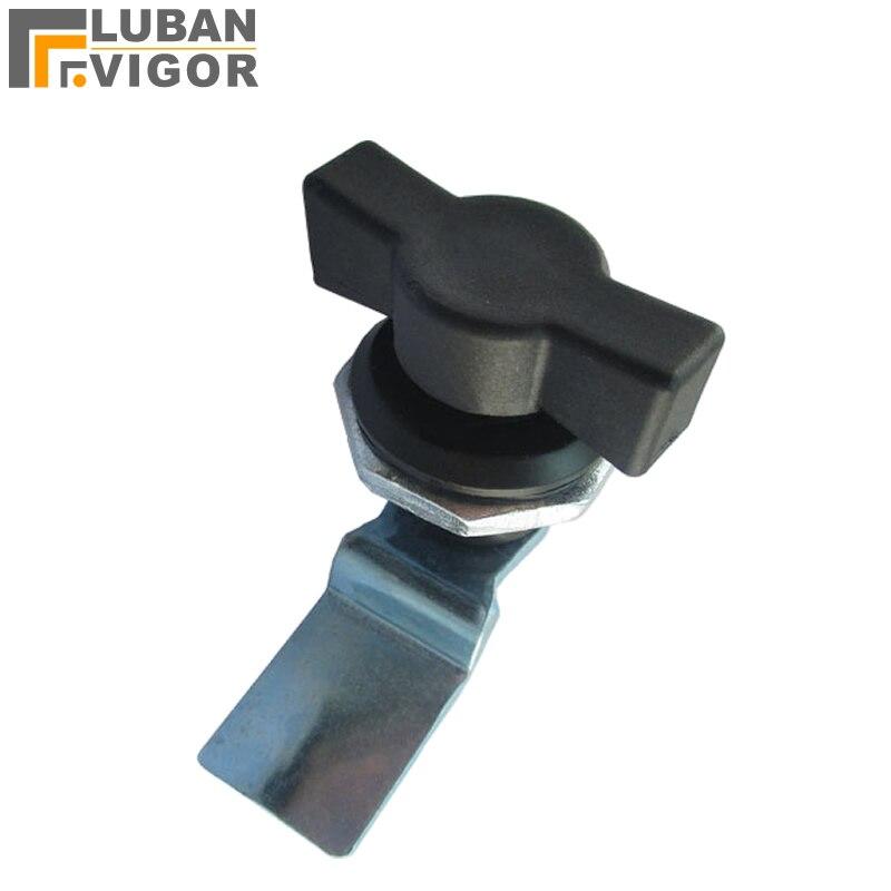 Ms714 Zwart Handvat Kast Lock Cam Sloten Voor Hoge En Lage Voltage Kabinet Verdeelkast Schakelapparatuur Controle Kast