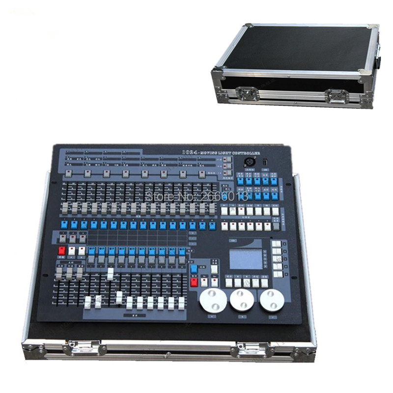 With Flight Case 1024 Channels DMX512 DMX Controller Console DJ Disco Equipment DMX Lighting Consoles Professional Stage Lights стоимость