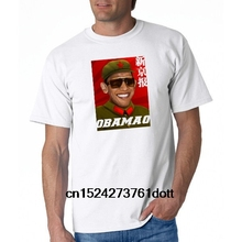 6b66948e1 Funny Men t shirt white t-shirt tshirts Black tee Anti Obama Mao Conservative  Mens