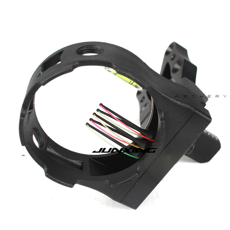 Image 4 - Crossbow Hunting Compound Bow 5 pin Bow Sight Led light Bow Sights For recurve bow Hunting Bow Sights Archery Accessories-in Bow & Arrow from Sports & Entertainment