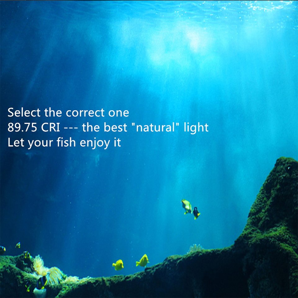Super Bright LED Aquarium Lights LED Plants Grow Light 5W/10W/15W Aquatic Freshwater Lamps Waterproof Clip on Lamp For Fish Tank 13