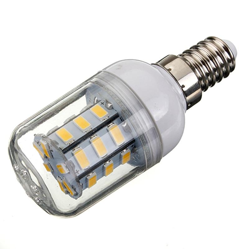 LED Corn Light Bulb E14 27Leds 5730SMD Energy Saving LED Lamp Spotlight Bulbs Lampada Pure Warm White Lighting 24V 4W e27 led lamp bulbs 100v 240v white warm light energy saving bright 4 kind
