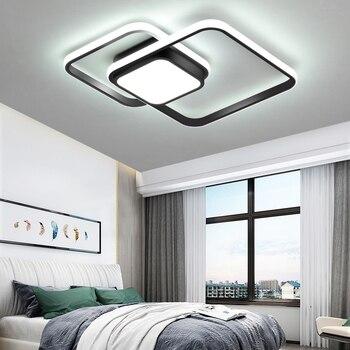 Schlafzimmer wohnzimmer Decke Lichter Lampe Moderne lustre de plafond  moderne Dimmen Acryl Moderne Led-deckenleuchte für schlafzimmer