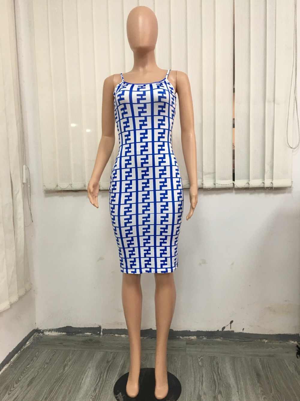 Модные летние платье миди 2019 рукавов плед печати спинки сексуальное облегающее платье Для женщин клуб Платья для вечеринок Vestidos