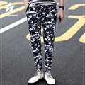 2016 Camouflage Pants Men Autumn Cotton Fashion Comfortable Mens Cargo Sweatpants Pencil Trousers Casual Brand Clothing LW065
