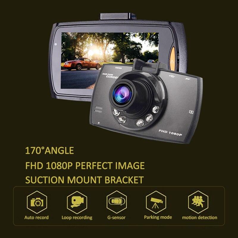 Voiture dvr Mini 2.7 Full HD 1080 p Voiture DVR 170 degre Large Angle TFT LCD Voiture dvr Dash Caméra Vidéo Cam Enregistreur Nuit Vision