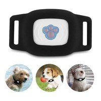 Smart Waterproof IP67 MiNi Pet GPS AGPS LBS Tracking Tracker Collar For Dog Cat AGPS LBS SMS Positioning Geo Fence Track Device