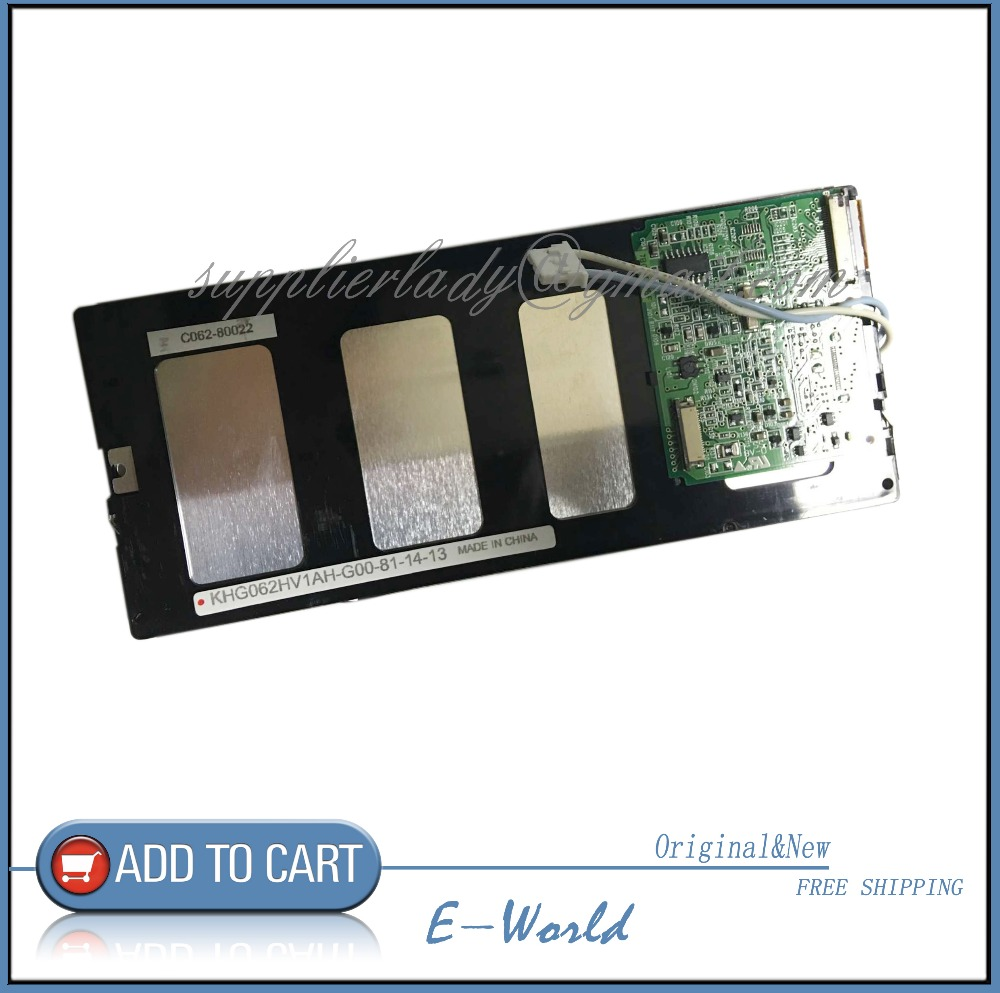 Original 6.2inch LCD screen KHG062HV1AH-G00-81-14-13 KHG062HV1AH-G00-81-14 KHG062HV1AH-G00 KHG062HV1AH free shipping