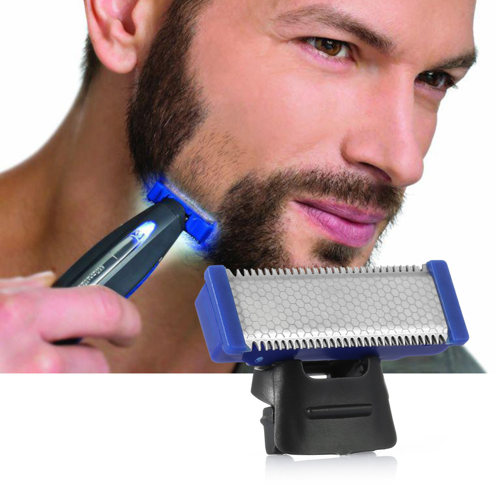 FIMEI Replaceable Shaver Head Stainless Steel Double-Sided Blade Shaver Accessories For MicroTouch Solo Electric Razor модуль d link dem 220r 100base bx u single mode 20km sfp