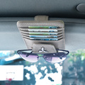 Car Glass Clip Sticker For Mitsubishi emblem lancer 10 outlander pajero asx amplifier carisma colt galant spoiler pajero sport