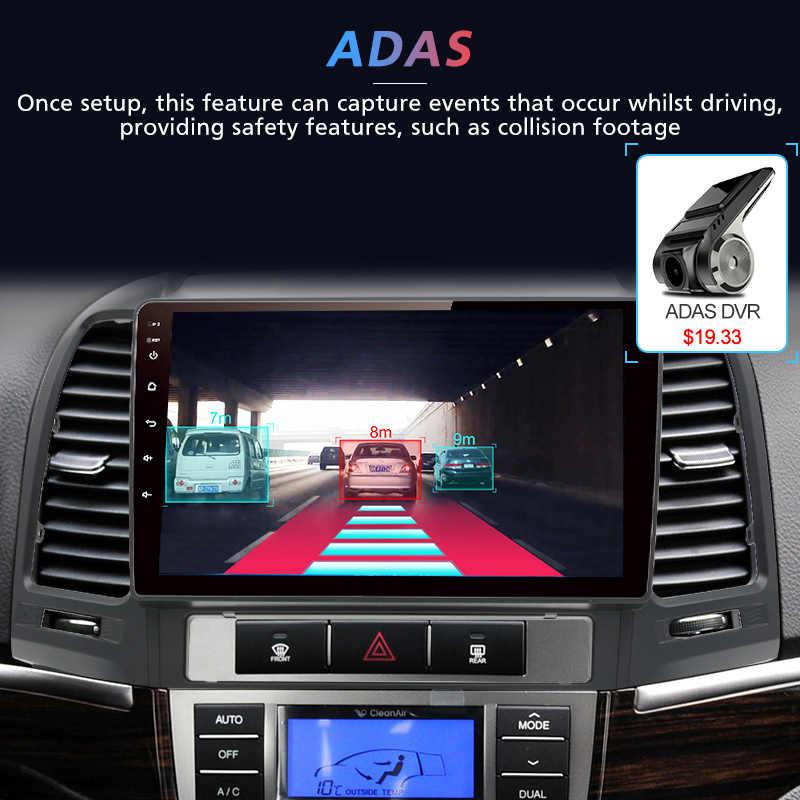 Junsun 2G + 32G Android 8.1 Voor Hyundai Santa Fe 2006-2012 Auto 2 din Auto Radio stereo Speler Bluetooth Gps-navigatie Geen 2din dvd