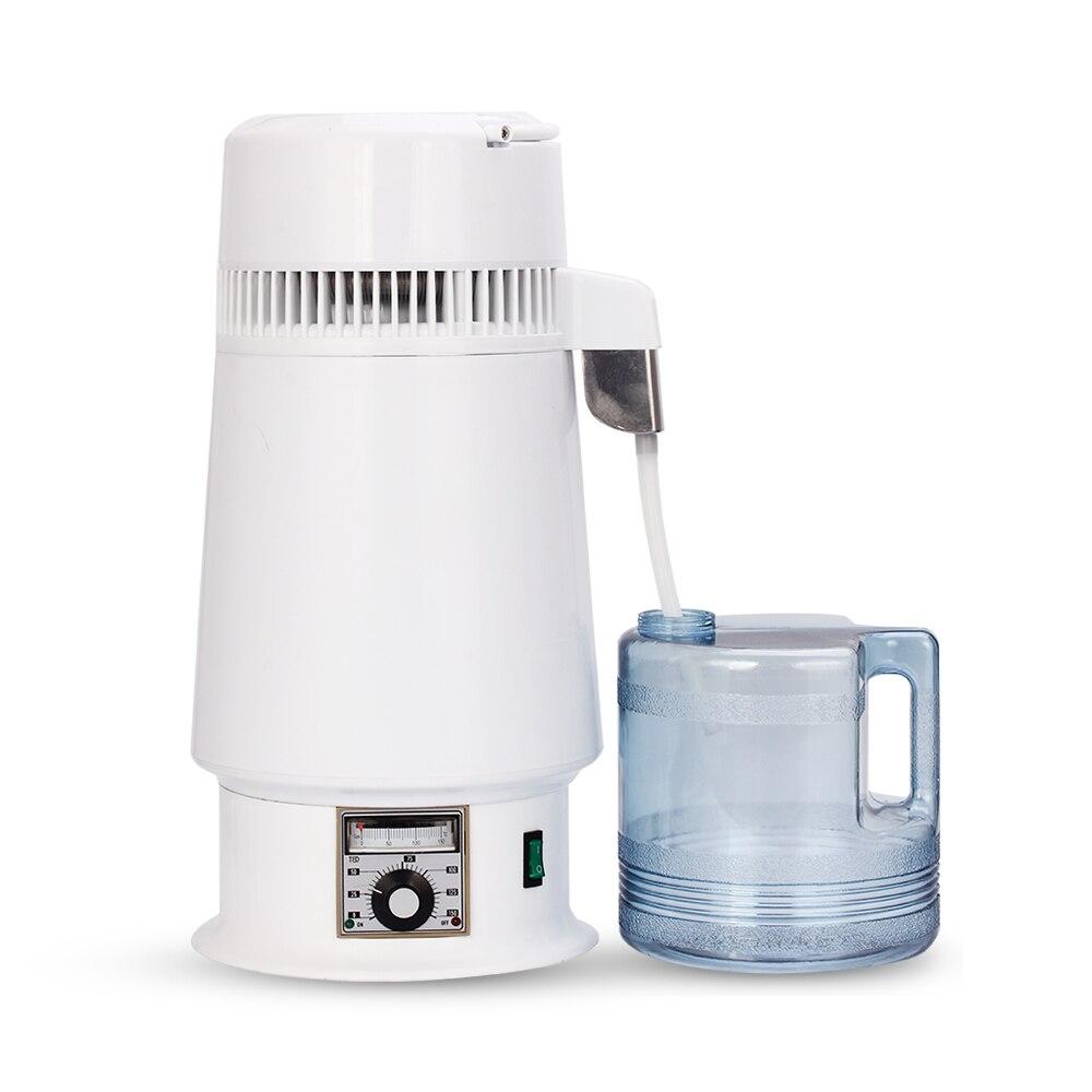 4 л дома чистая вода Алкоголь дистиллятор фильтр для воды машина дистилляции очиститель самогон кипятильный пивоварения кувшин бытовой лаб...